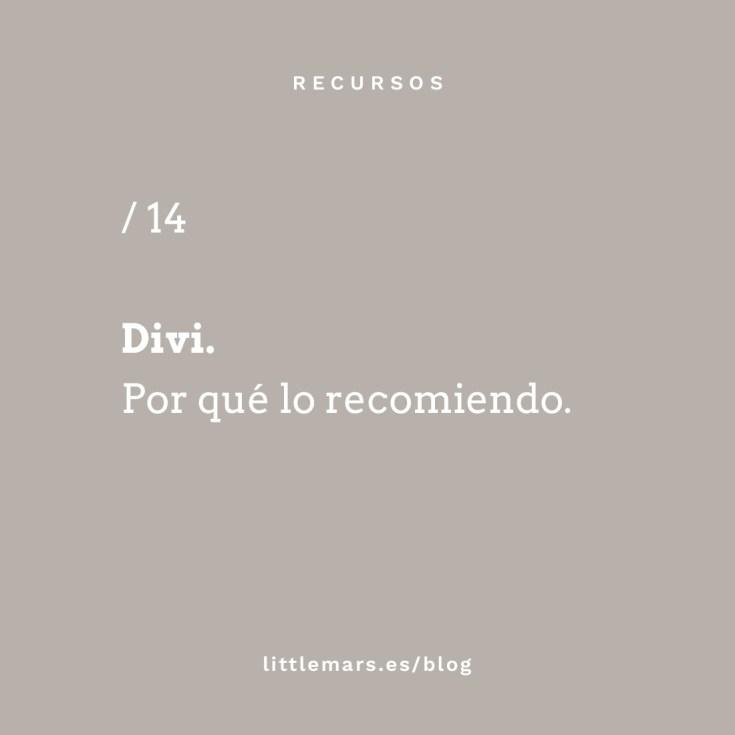 Qué es Divi y por qué lo recomiendo.