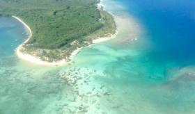 Tobago desde el aire