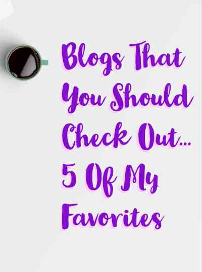 My Favorite Blogs This Week- 4th Edition