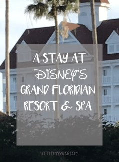A Stay at Disney's Grand Floridian Resort and Spa