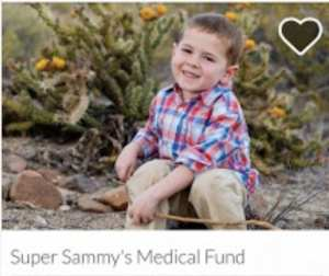 Go fund me for Sammy
