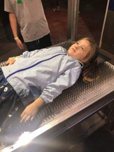 Bed of Nails at Discovery Place