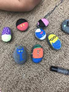 Painted Rocks to share kindness