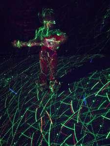 Dance Party Lights- Hulk Smash Dance Birthday littlemissblog.com