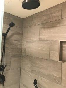 Bathroom inside studio room