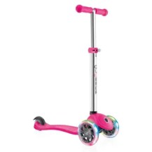 Pink Scooter from Globber Scooters. Best Christmas Gift Ideas for Kids- littlemissblog.com