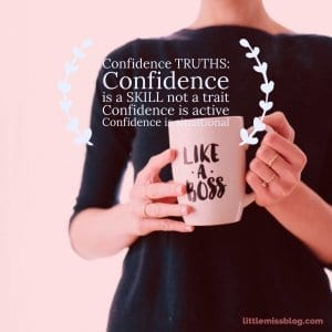 Confidence Truths.  Dispelling the myths. littlemissblog.com