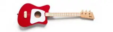 Red Loog Guitar littlemissblog.com