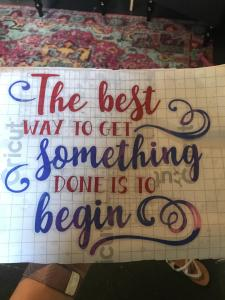 The Best Way to begin quote