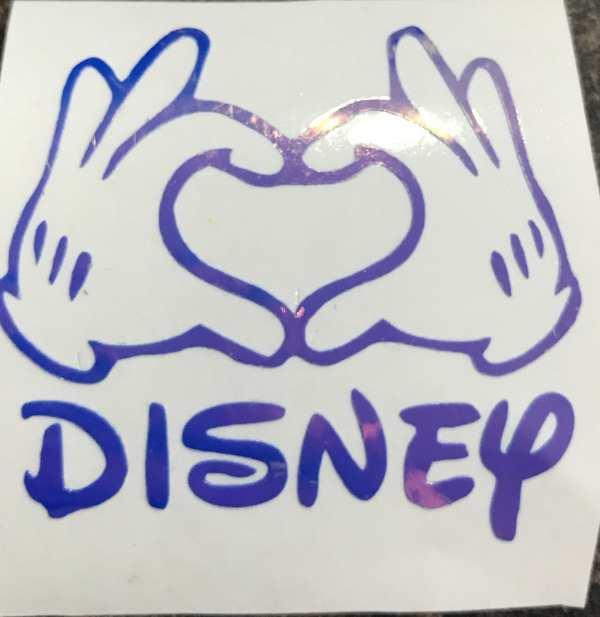 Disney Love heart hands