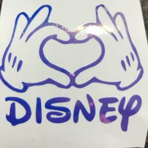 Disney Love heart hands