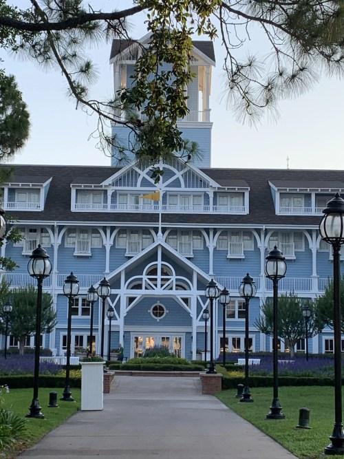 Disney's Beach Club Resort Building To Rooms Entrance