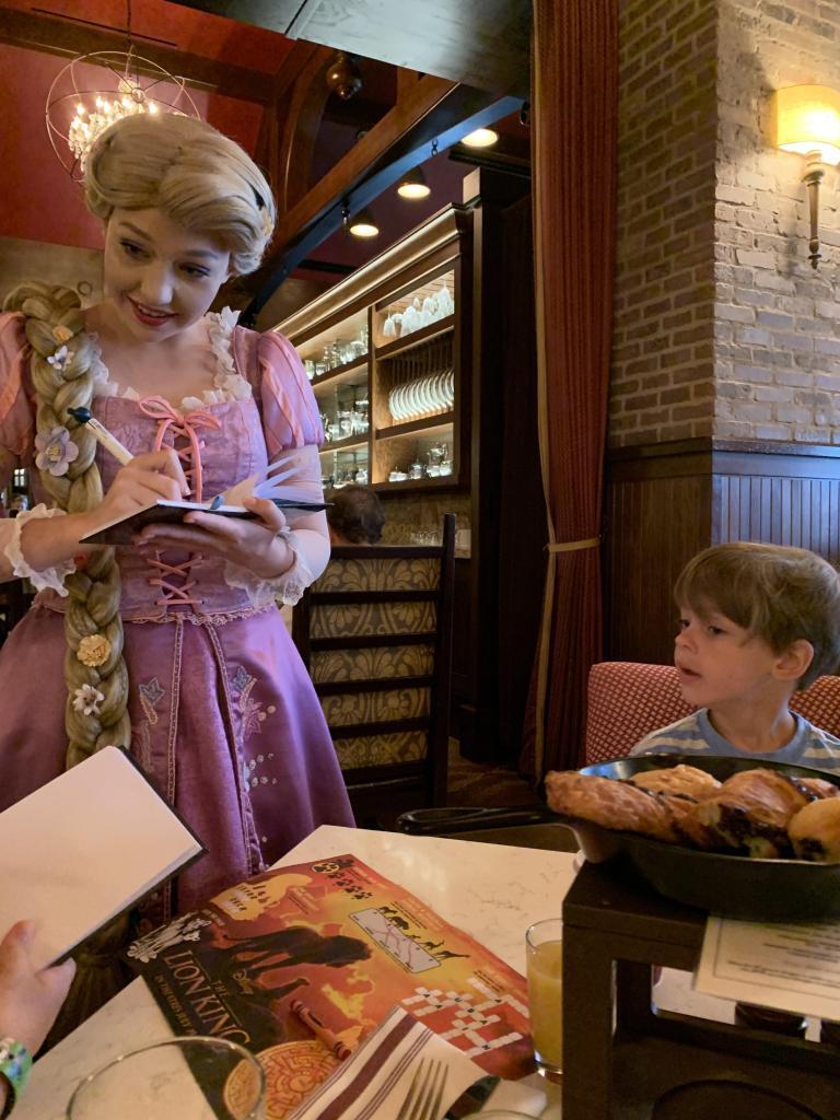 Rapunzel Signing Autographs