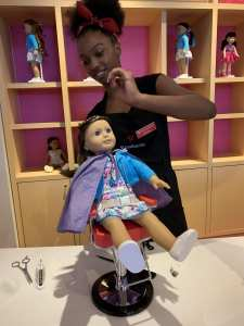American Girl Doll Store Hair Salon