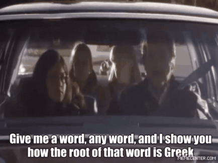 Enneagram My Big Fat Greek Wedding