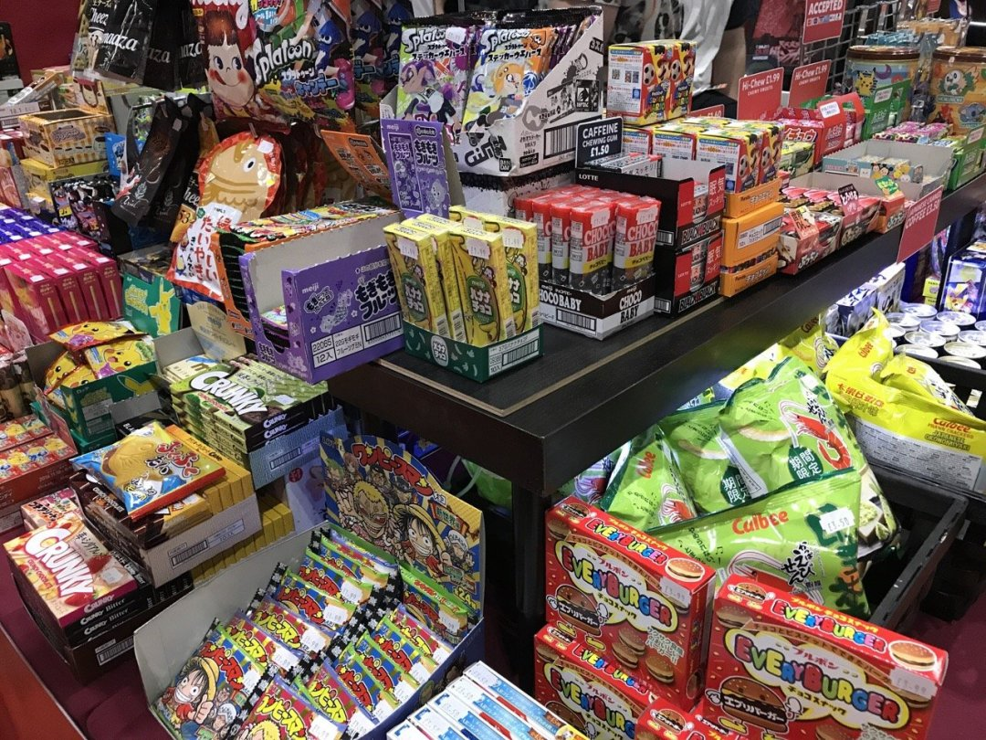 Comic Con for kids sweets