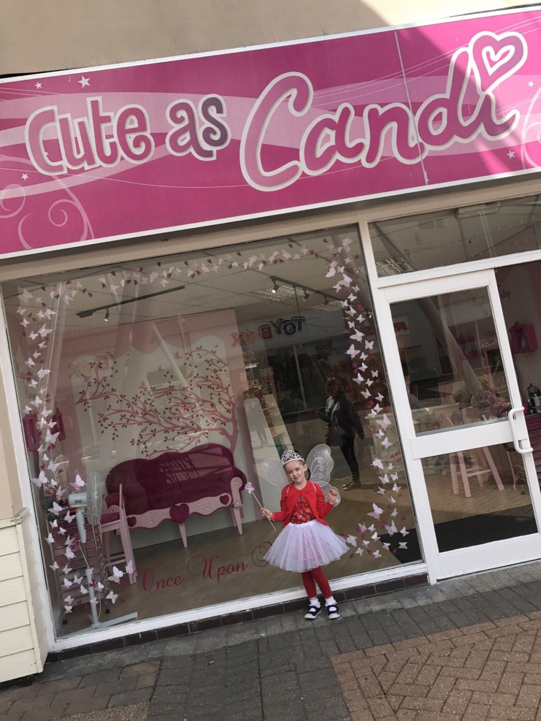 Butlins Bognor Fairy Makeover Cute as Candi