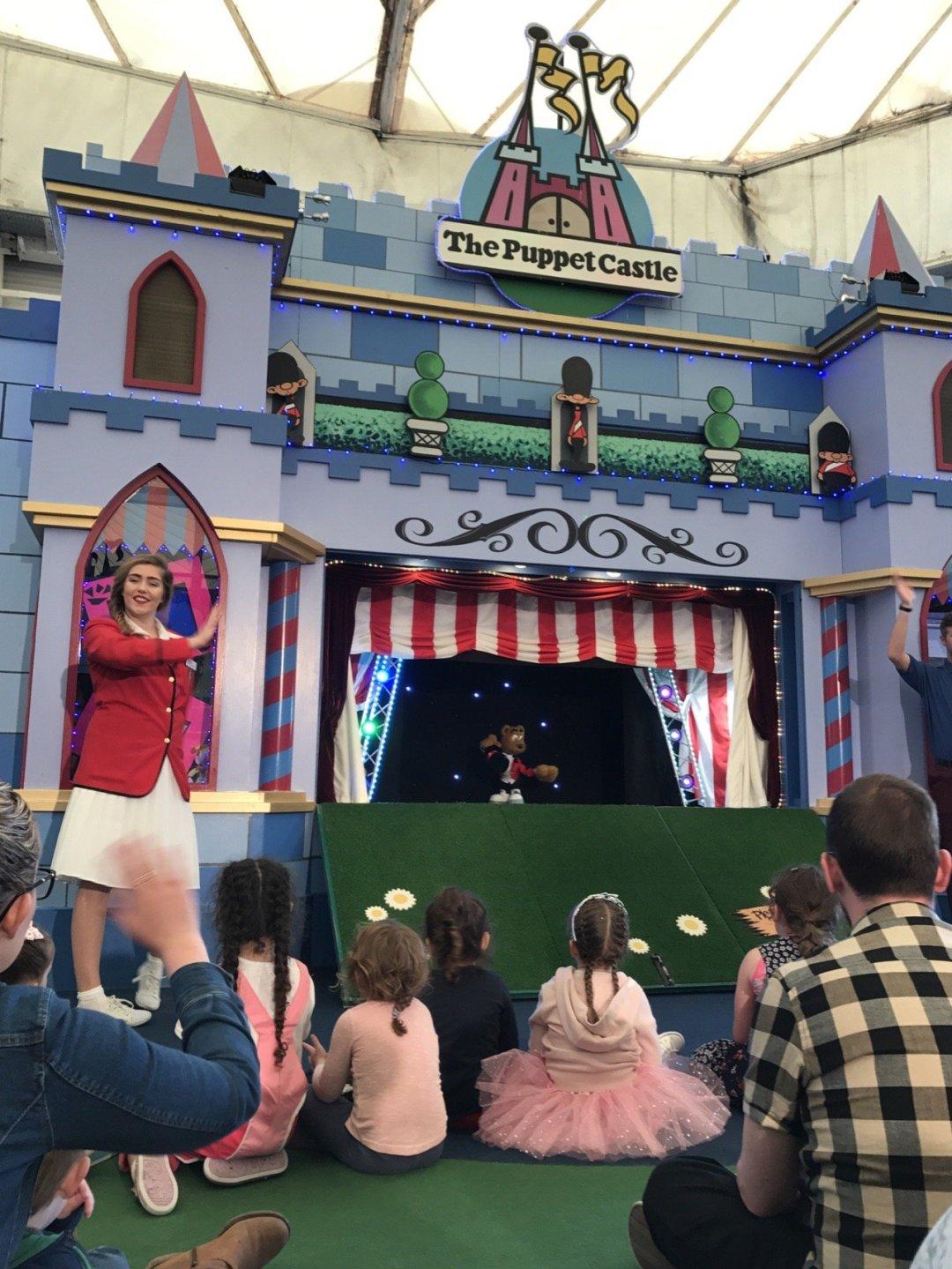 Butlins Bognor Puppet show