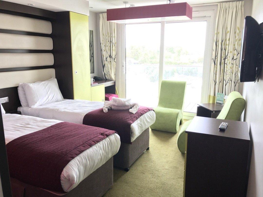 Butlins Bognor The Ocean Hotel room view