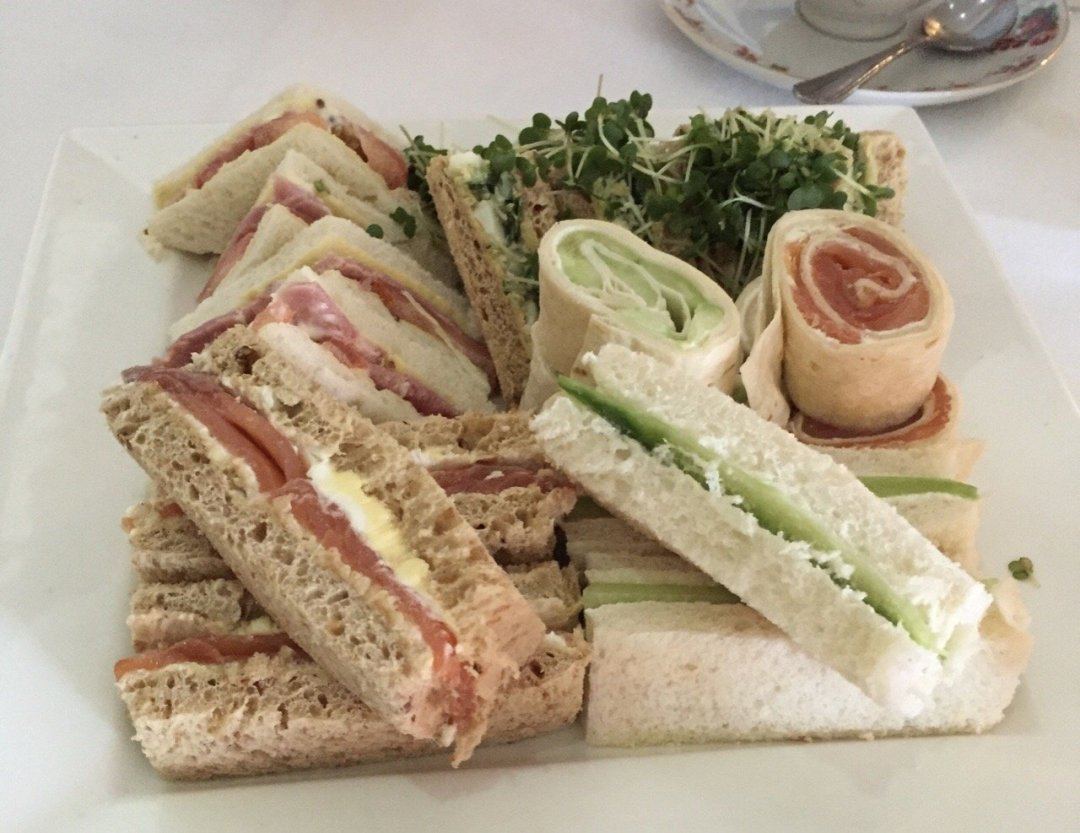 Afternoon Teas in Essex Camelia Hotel Sandwiches