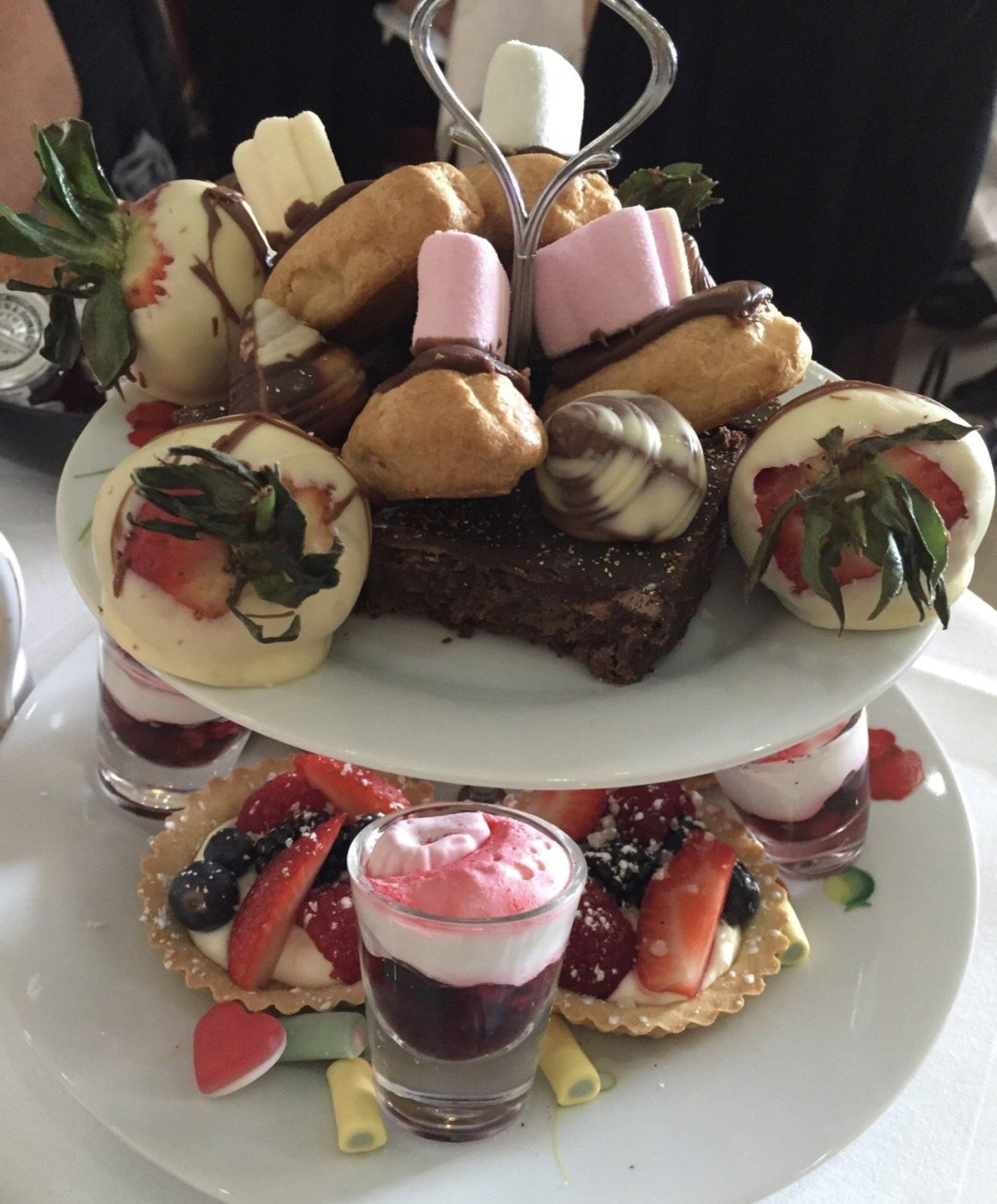 Afternoon Teas in Essex camelia hotel cakes