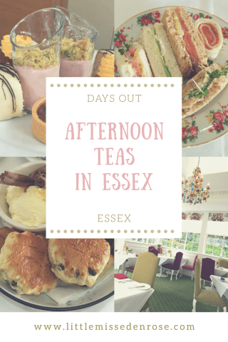 Afternoon teas in essex
