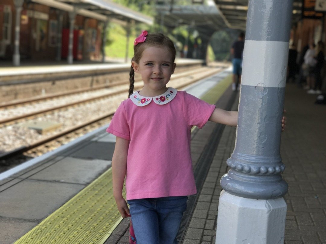 cadbury's adopt a cow At the station