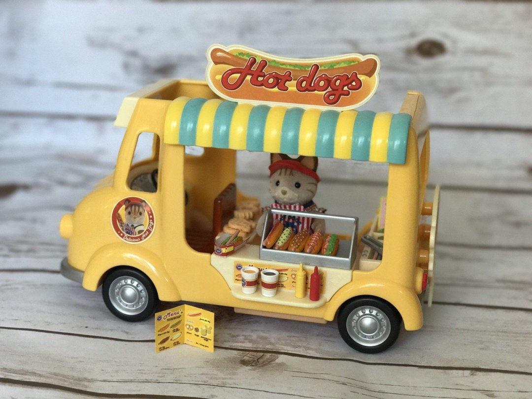 Sylvanian Families Hot Dog Van The Van