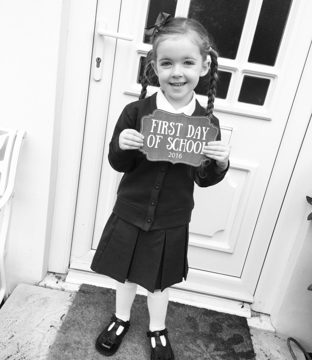 Top tips for starting school -the reception year Edens first day