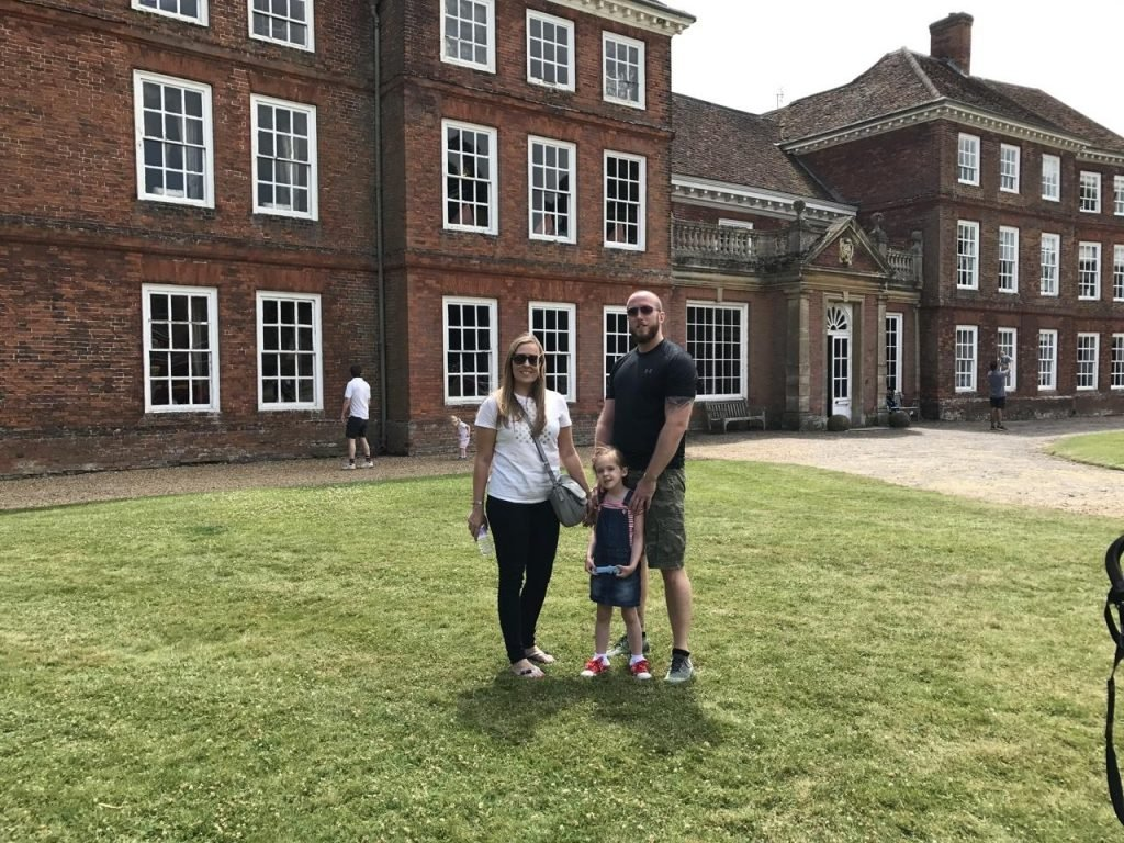 Lullingstone Castle us outside the house