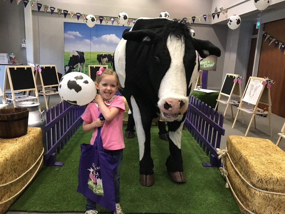 weekly round up cadbury adopt a cow Buttons