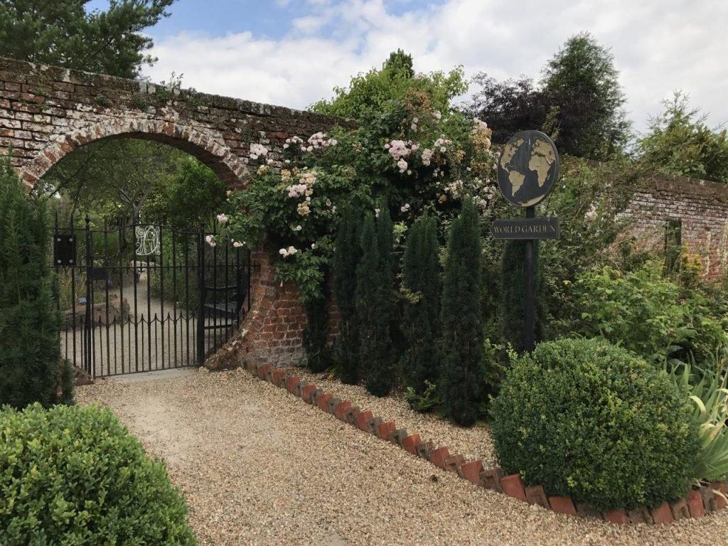 Lullingstone Castle the world garden