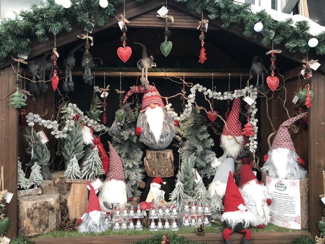 Christmas German Market in Essex - elves
