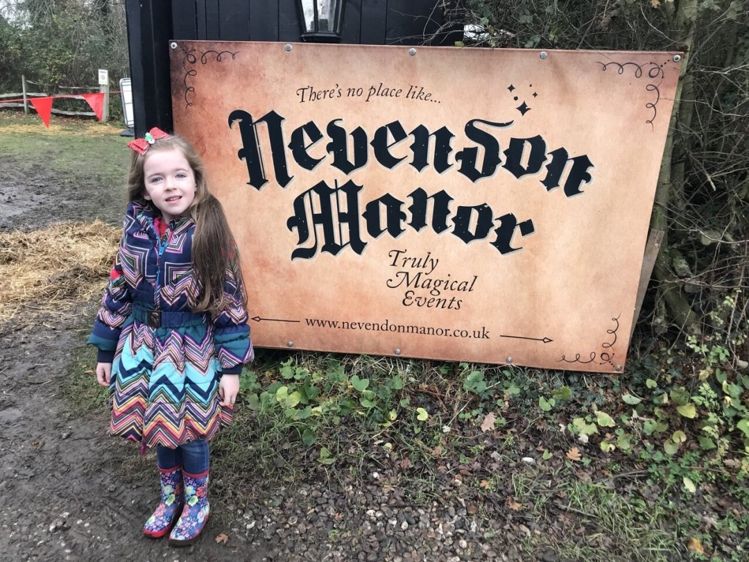 An Elf's Wish at Nevendon Manor sign