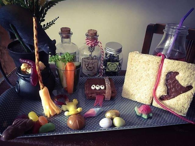 Wizards afternoon tea childrens platter