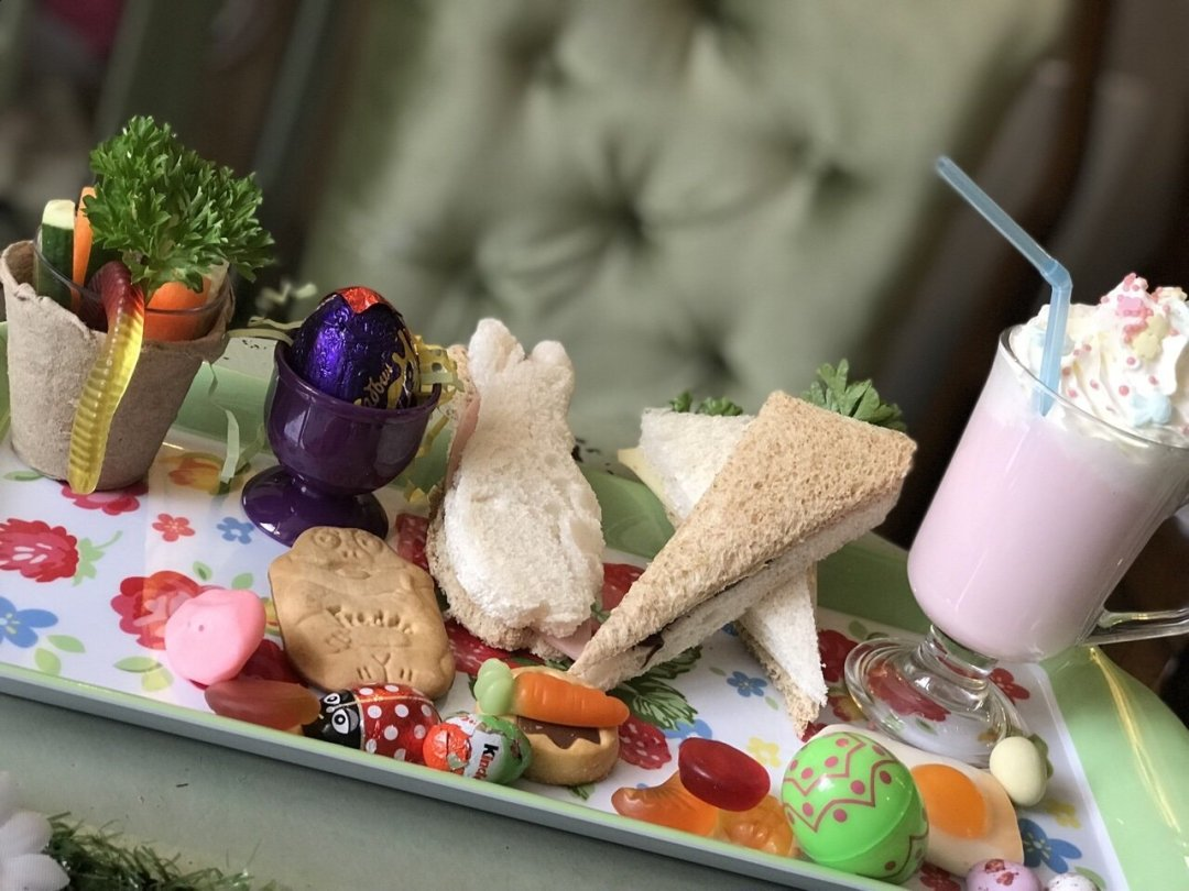 Children's platter - A Tale of Peter rabbit themed afternoon tea