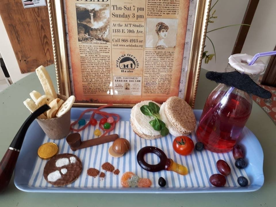 Childrens platter Sherlock Holmes Themed Afternoon Tea