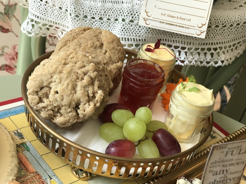 Spiced scones Sherlock Holmes Themed Afternoon Tea