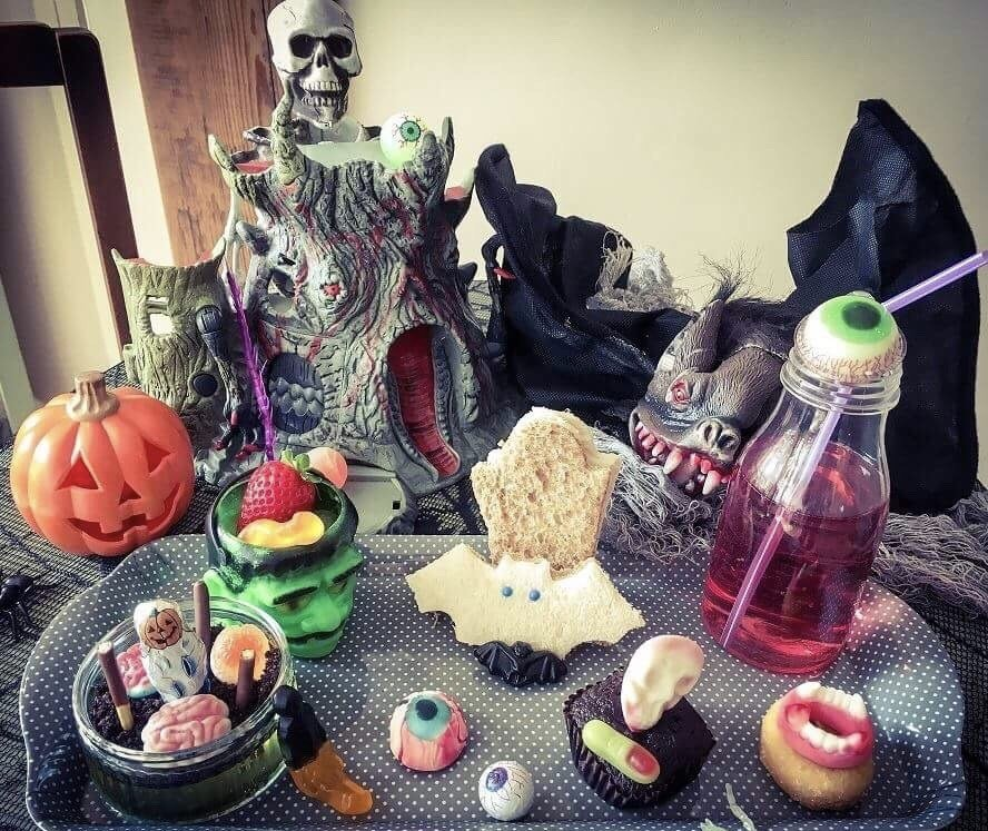Kids Halloween platter