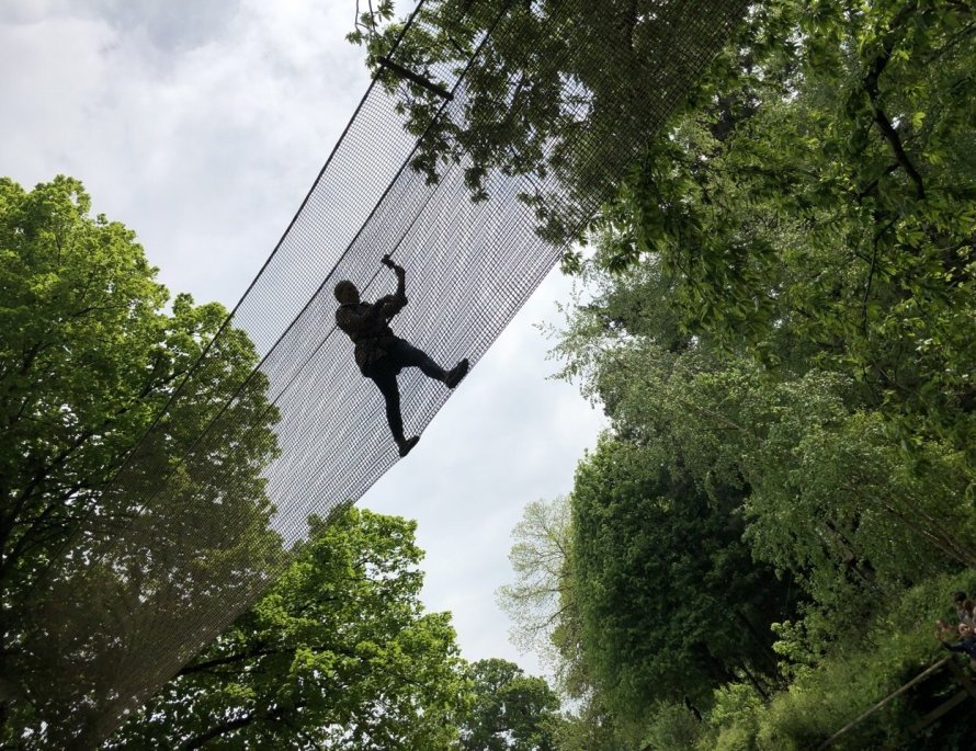 We were lucky enough to be invited along to try out the Go Ape Tree Top Adventure at Leeds Castle and what a truly awesome time we had!