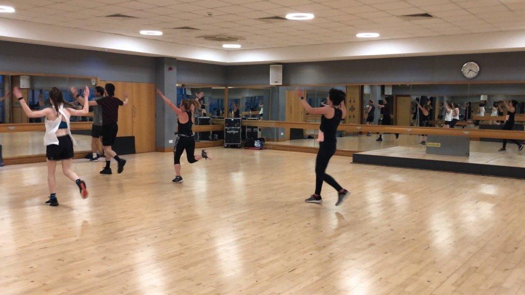 Bodyattack workout class