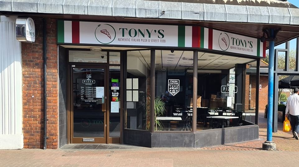 Tony's pizza lockdown delivery