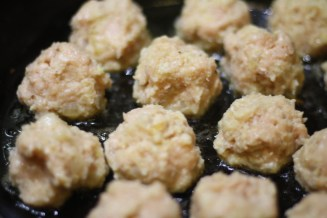 Meatballs Marsala
