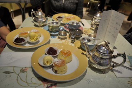 Cream Tea at Fortnum & Mason