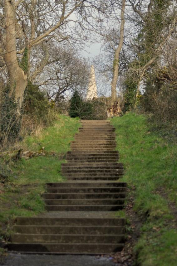 Just a few steps