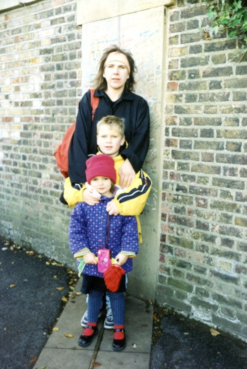 My mother, brother and me 16 years ago