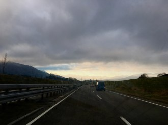 On the way to the Alps