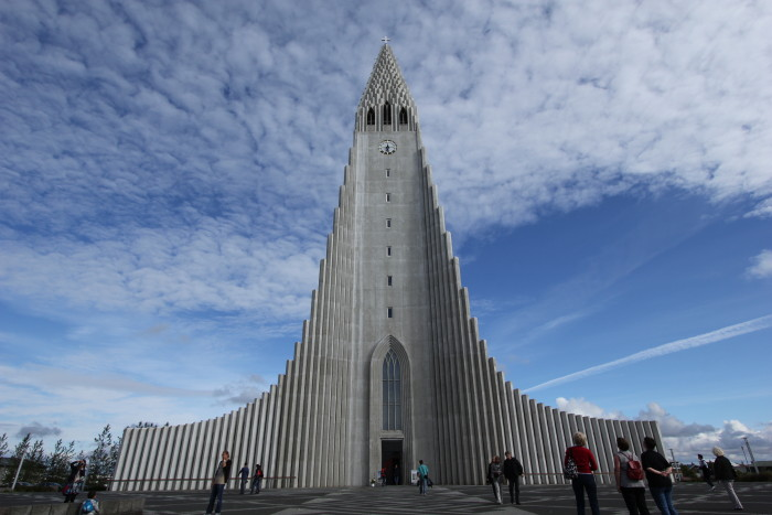 Iceland Hallgrimskirka church