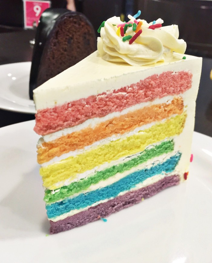 Rainbow Cake by The Royal's Cafe