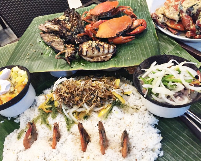 Seafood Island Boodle Fight